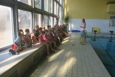 1. lekce plavání