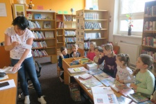 Beseda s knihovnicí - 1. a 2. ročník