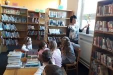 Návštěva knihovny - ŠD