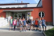 Návštěva ZŠ Slavkov - 5. ročník
