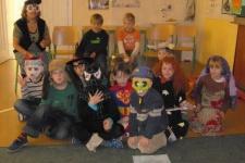 Halloween - říjen 2008