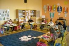 Prvňáci ve třídě a TV