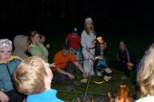 Škola v přírodě - Táborák