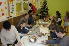 Vánoční tvoření ve školce