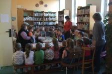 Návštěva místní knihovny s přednáškou