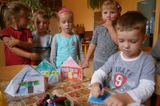 Podzimní tvoření dětí