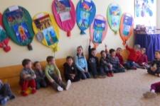 6.3.2013 Předškoláci na návštěvě v ZŠ