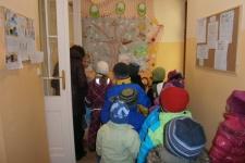 Návštěva velikonoční výstavy v ZŠ