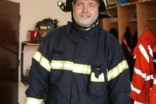 Beseda s místními hasiči, prohlídka hasičárny