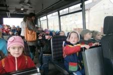 Návštěva Loutkového divadla ke Dni dětí