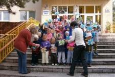 První školní den v MŠ