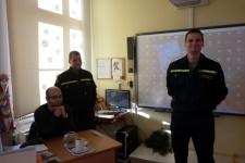 Beseda s hasiči HZS Hlučín