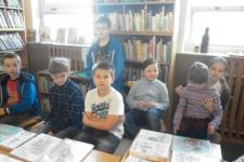 ŠD na návštěvě v knihovně