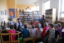 Návštěva knihovny - 1. a 2. ročník