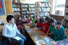 Návštěva knihovny - 3. a 4. ročník