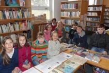 Návštěva knihovny - 5. ročník
