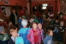 Děti MŠ v Loutkovém divadle