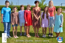 Fotografie tříd na závěr školního roku