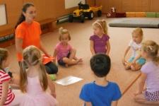 Výuka gymnastiky