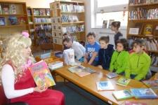 Návštěva knihovny - 2. ročník