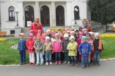Děti z MŠ navštívily SLEZSKÉ MUZEUM