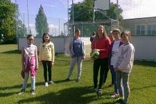 Návštěva žáků 5. ročníku ve Slavkově