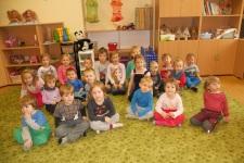 Děti z MŠ ve školní družině