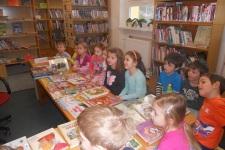 Návštěva knihovny- třída sluníček