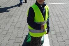 Děti z MŠ na dopravním hřišti