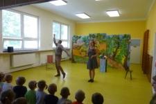 Divadelní představení v MŠ - Zamotané pohádky