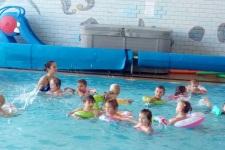 1.lekce plavání MŠ
