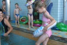 Plavecký výcvik - 2. lekce