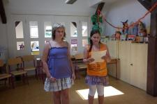 Volba Miss ve školní družině