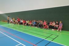 Sportování v hale v Litultovicích